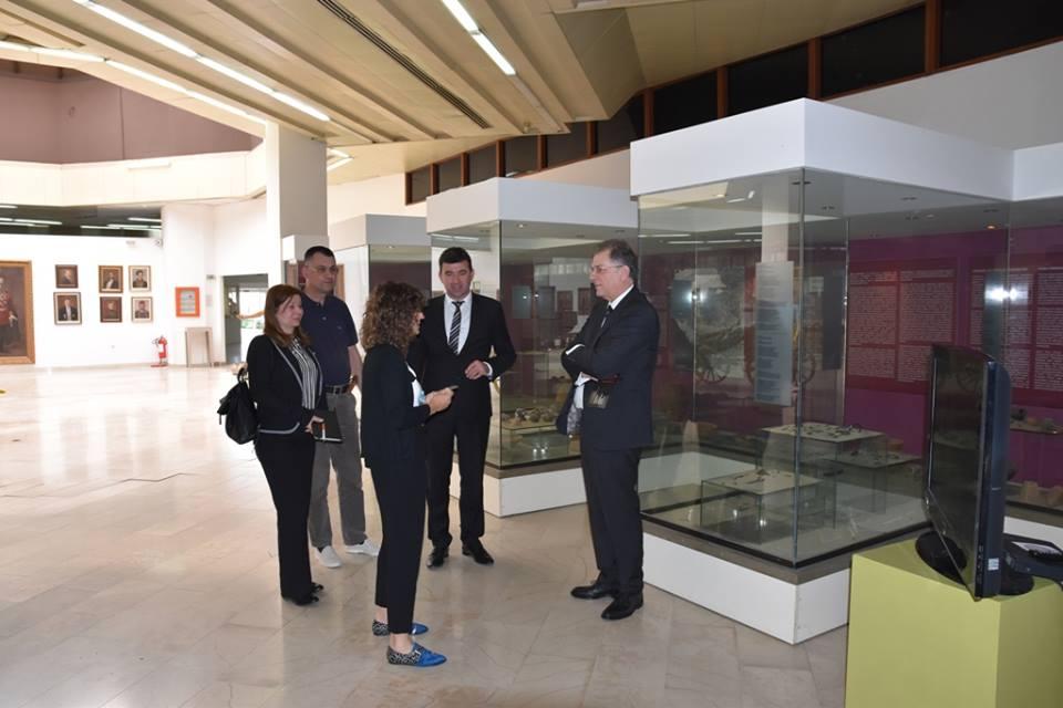 Aмбасадор Грчке у посјети Музеју